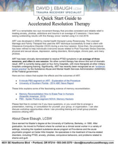 Accelerated Resolution Therapy Guide